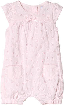 Absorba Pink Broderie Anglaise Bubble