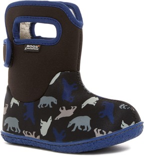Bogs Polar Bear Faux Fur Lined Boot (Baby)