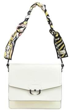 Paula Cademartori Women's White Leather Shoulder Bag.