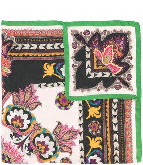 Etro floral scarf