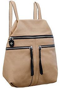 Oryany Italian Leather Backpack -Chloe