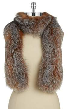 Surell Fox Fur Scarf