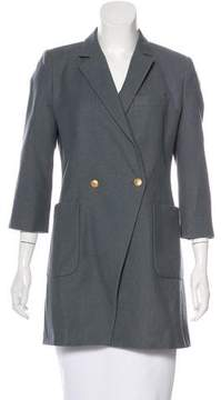 Boy By Band Of Outsiders Virgin Wool Double-Breasted Coat