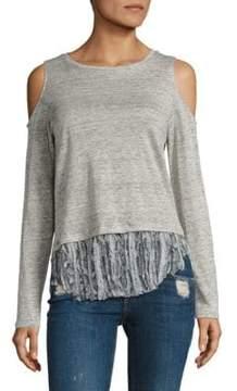 Generation Love Talia Cold-Shoulder Long-Sleeve Top