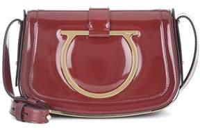 Salvatore Ferragamo Sabine patent leather shoulder bag