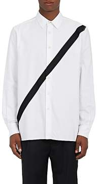 Public School Men's Striped Cotton Piqué Shirt