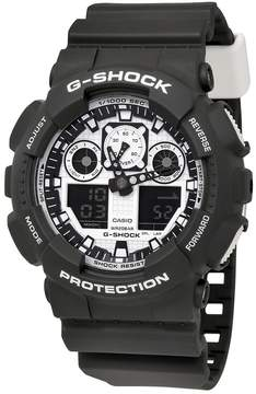 Casio G-Shock Black Resin Analog-Digital Men's Watch