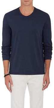 Loro Piana Men's Cotton Long-Sleeve T-Shirt