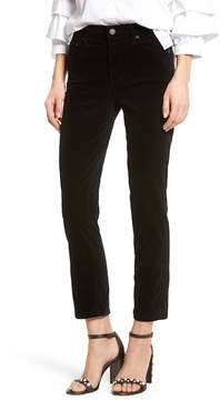 Citizens of Humanity Cara High Waist Ankle Cigarette Velvet Pants