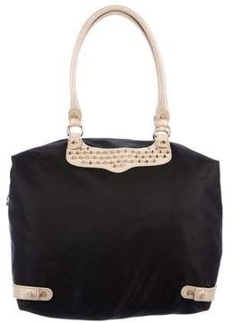 Rebecca Minkoff Nylon Travel Tote - BLACK - STYLE
