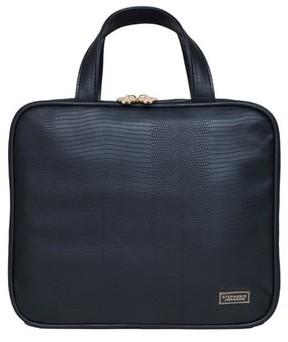 Stephanie Johnson Galapagos Noir Martha Large Briefcase Makeup Bag