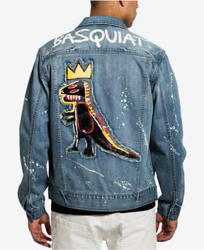 Sean John Men's Basquiat Pez Denim Jacket, Created for Macy's