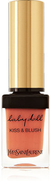 Yves Saint Laurent Beauty - Baby Doll Kiss & Blush - 04 Orange Fougueux