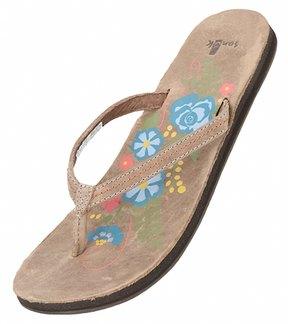Sanuk Women's Flora The Explora Flip Flop 8115987
