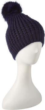 Jocelyn Navy Knit Hat