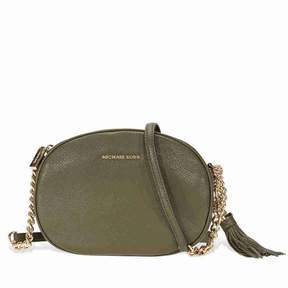Michael Kors Ginny Medium Crossbody Bag - Olive - ONE COLOR - STYLE
