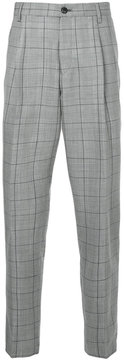 TOMORROWLAND plaid tailored trousers