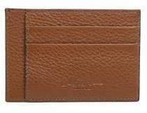 Saks Fifth Avenue COLLECTION Leather Bi-Color Card Case