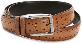 Stacy Adams Metcalf Leather Belt - Men's