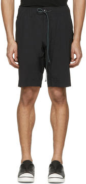 Attachment Black Slim Shorts