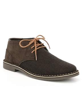Kenneth Cole Reaction Men's Desert Sun Suede and Fabric Chukka Boots