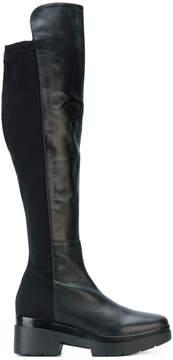 Albano chunky knee high boots