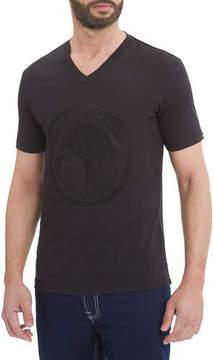 Stefano Ricci Eagle V-Neck T-Shirt