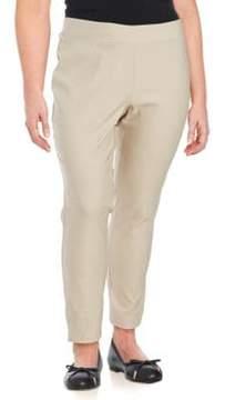 Context Plus Solid Ankle-Length Pants