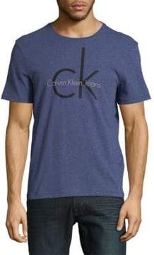 Calvin Klein Jeans Logo-Print Short-Sleeve Tee