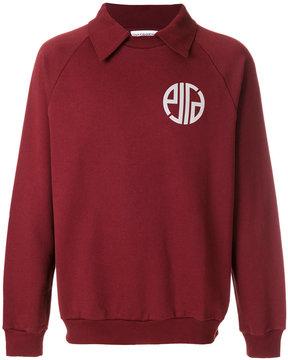 Gosha Rubchinskiy collared sweatshirt