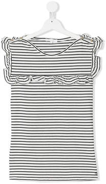 Chloé Kids TEEN nautical bib T-shirt