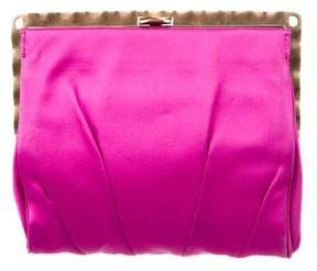 Nina Ricci Pleated Frame Clutch