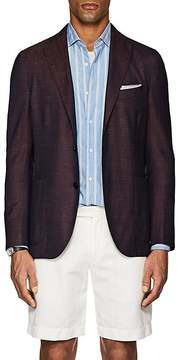 Boglioli Men's K Jacket Wool-Blend Two-Button Sportcoat