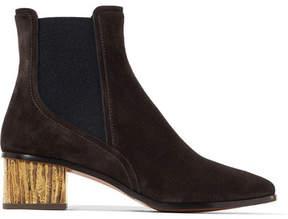 Chloé Qassie Suede Chelsea Boots - Black