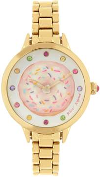 Betsey Johnson SPINNING OUT DONUT WATCH