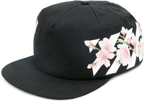 Off-White floral print cap