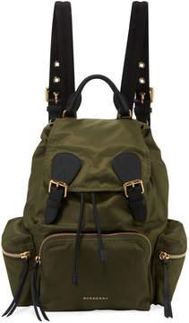 Burberry Medium Rucksack Runway Nylon Backpack