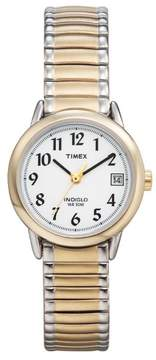 Timex Women's Easy Reader Two-tone Steel Expansion Band Watch