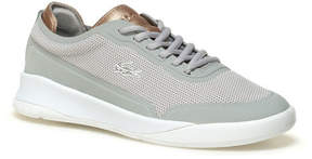 Lacoste Women's Lt Spirit Elite Metallic Piqu Canvas Sneakers