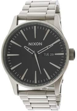 Nixon Men's Sentry Ss A3562348 Silver Stainless-Steel Quartz Fashion Watch