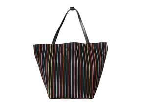Elizabeth and James Blanket Stripe Teller Tote Tote Handbags