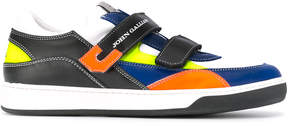 John Galliano Teen touch-strap sneakers