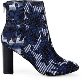 Sole Society Olympia Embroidered Bootie