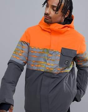 Billabong Tribong Snow Jacket in Orange