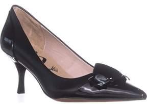 Nina Prezley Pointed-toe Kitten Heel Pumps, Black.