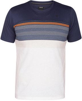 Hurley Men's Strands Cove Striped T-Shirt