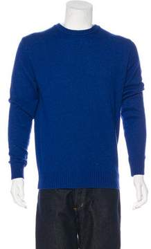 Calvin Klein Collection Wool-Blend Crew Neck Sweater