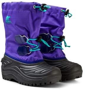 Sorel Purple Arrow Children's Super Trooper Boots