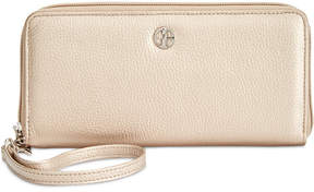 Giani Bernini Softy Slim Zip Around Wallet, Created for Macy's