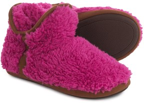 Dearfoams Short Pile Boot Slippers (For Women)